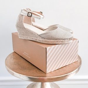 Soludos Closed Toe Midwedge Espadrille Sandals
